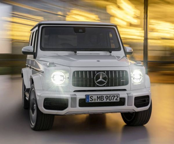 Officially: presented the new Mercedes-AMG G 63