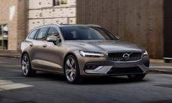 Volvo has unveiled the V60 station wagons of the new generation