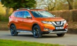 Nissan introduced a new version of the crossover X-Trail