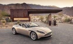 "The first tests DB11 Aston Martin Volante: great habits, but boring ""multimedica"""