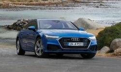 The first tests the Audi A7 Sportback: quiet motor, but stiff suspension