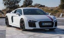 The first tests the Audi R8 RWS: when four-wheel drive is a liability