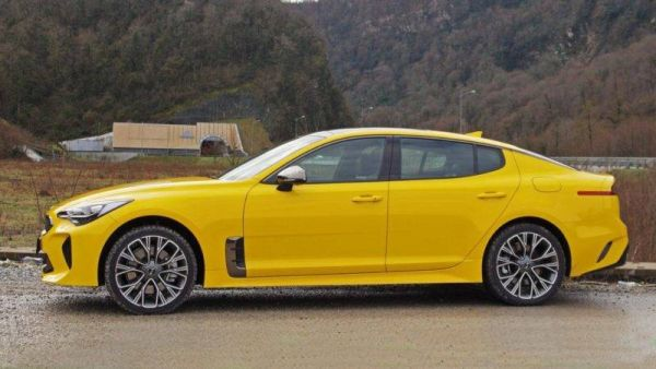 Bite me if you can: test drive the Kia Stinger