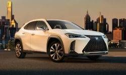 Disclosed is the design of the most affordable crossover Lexus