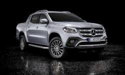 Pickup Mercedes-Benz X-Class got the V6 turbodiesel