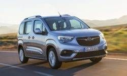 The new Opel Combo was moved to the platform and motors PSA