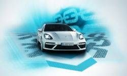 Porsche introduced the technology of the blockchain in the car