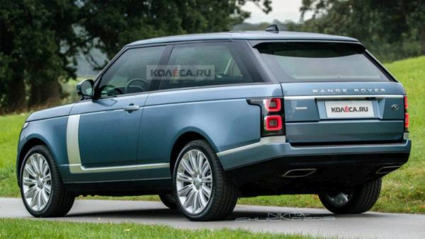 Range Rover coupe SV: new images