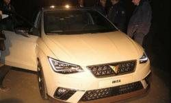 Charged new Seat Ibiza Cupra declassified before the debut in Geneva