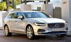 New Volvo V60: first images