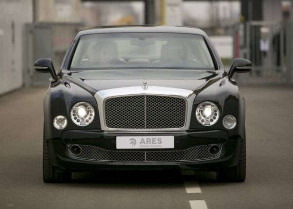 In Ares Design has removed the Bentley Mulsanne back door