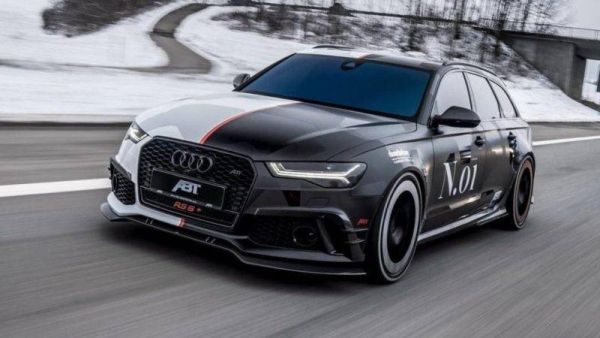 Charged wagon Audi joined the fleet of the famous skier