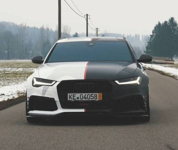 """""""Charged"""" wagon Audi joined the fleet of the famous skier"""