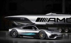 Hypercar Mercedes-AMG Project One got water version