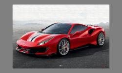 The extreme version of the Ferrari 488 GTB will receive the prefix Pista