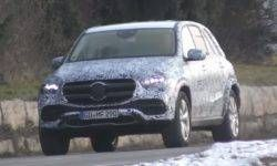 The new Mercedes-Benz GLE: there was a recent video