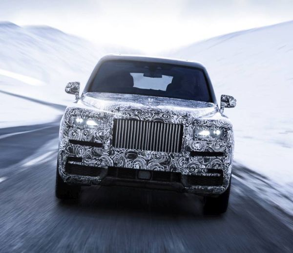Rolls-Royce has confirmed the name of the Cullinan for its crossover