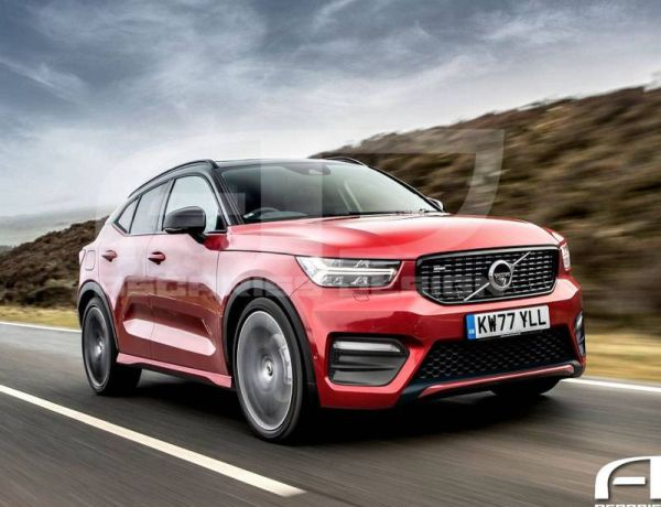 Volvo Is Thinking About Kupeobrazny Cross Xc50 Fineauto