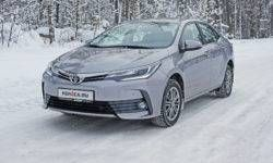 Eternal dream: test drive Toyota Corolla