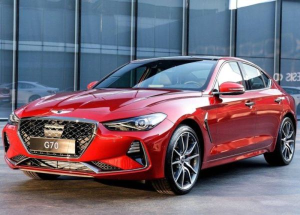 A competitor to the BMW 3-Series from Genesis will get a six-speed mechanics