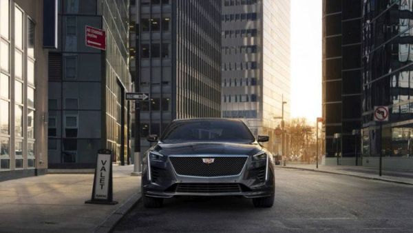 Updated Cadillac CT6: design inspired by Escala and charged V-version
