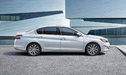 Peugeot 408 sedan has been updated. The first photo