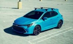 Toyota has declassified a new hatchback Corolla