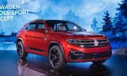 The five-seater Volkswagen Teramont: if not enough for the BMW X6