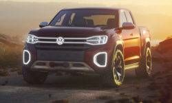 Volkswagen introduced a new truck