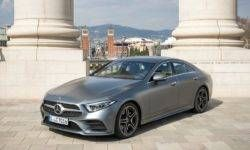 The first tests Mercedes-Benz CLS 4Matic 400d: noisy engine, but a great salon