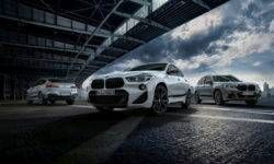BMW introduced the new M Performance accessories for the X2, X3 and X4