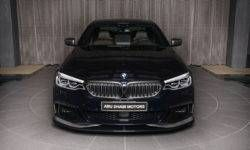 Arab BMW M550i boasts a cool tuning
