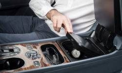 Bentley Bentayga got a safe with a biometric lock