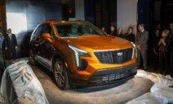 Junior: Cadillac introduced the crossover XT4