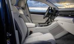 New Volkswagen Touareg official photos of the interior