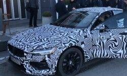 Boss Volvo has unveiled a prototype S60 sedan new generation
