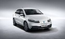 Daimler introduced electric vehicle Denza 500 for China
