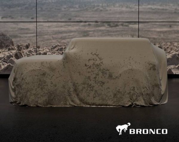 New Ford Bronco: the