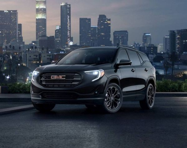 """GMC has announced a """"black"""" version of the Acadia and Terrain"""
