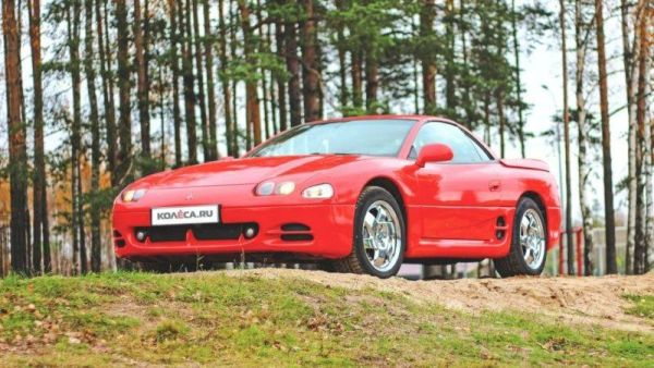 Red and black: an experience owning Mitsubishi 3000GT