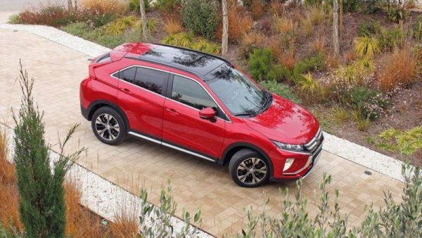 Small original: test drive the coupe-crossover Mitsubishi Eclipse Cross