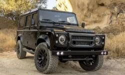 Fusion Motor showed a 430-horsepower Land Rover Defender