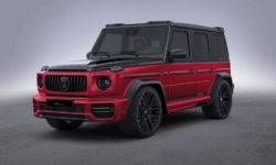 Lumma Design has shown the special version of the Mercedes-AMG G63