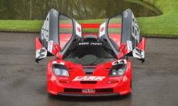 In the UK permitted to sell common roads, McLaren F1 GTR Longtail