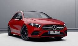 On the new Mercedes-Benz A-Class started to take orders