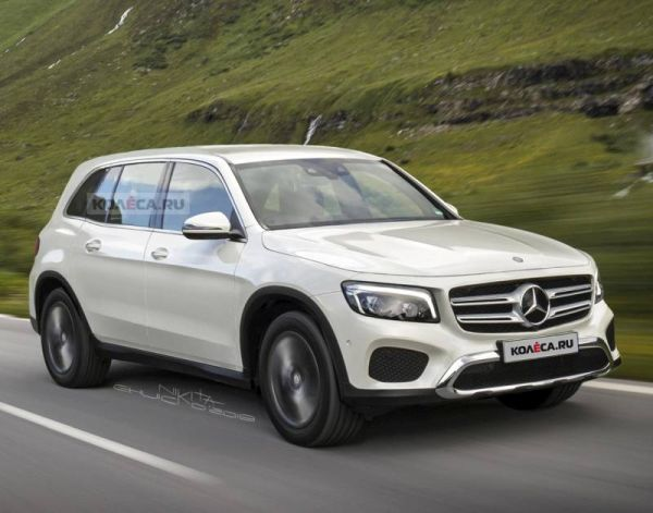The new Mercedes-Benz GLB: first images