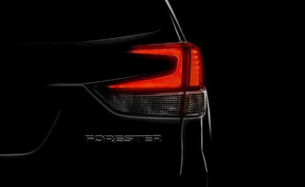 The new Subaru Forester will present in March. The first image of the model