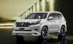 Wald International has introduced a new styling for Toyota Land Cruiser Prado and Harrier