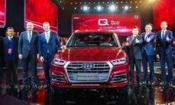 """Crossover Audi Q5 received a """"stretched"""" version"""