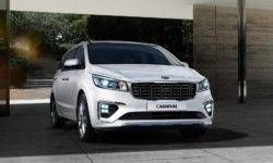 "Refreshed Kia Carnival minivan: ""ice cubes"" and a new powertrain"